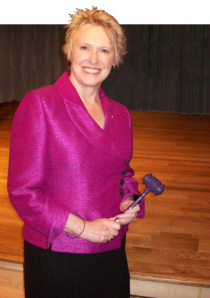 Roberta Perry, Past International Director from Region 10, 2011-2012