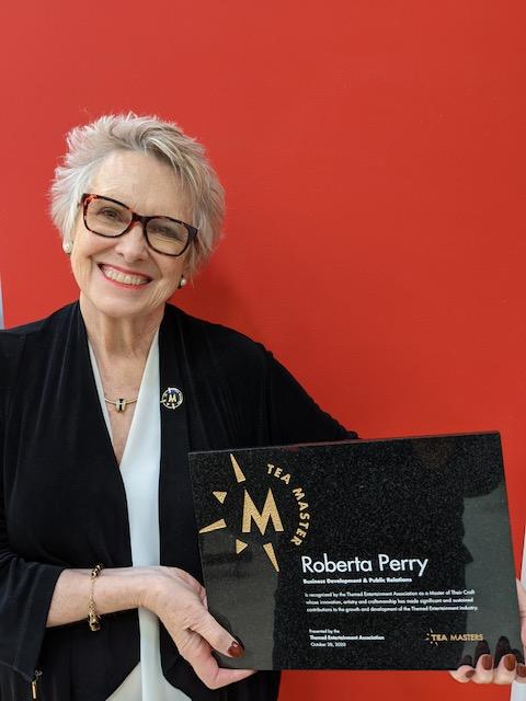 Roberta Perry awarded TEA Master