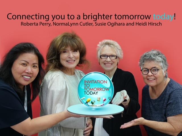 Roberta Perry, NormaLynn Cutler, Susie Ogihara and Heidi Hirsch