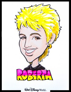 2015-03-05 POPAI Disney Sketch of Roberta Perry