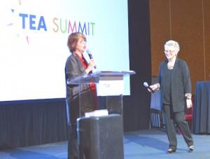 2015-04-10 TEA Summit 2015, Roberta Perry and Pat MacKay, Co-chairs